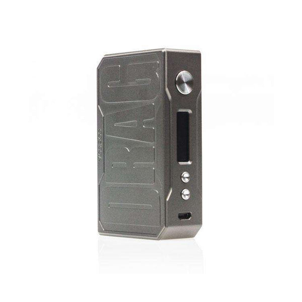 VooPoo DRAG 157W Box Mod - Special Edition In Gun Metal Grey